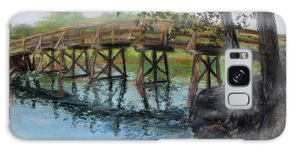 Old North Bridge In Pastel Galaxy Case by Jack Skinner