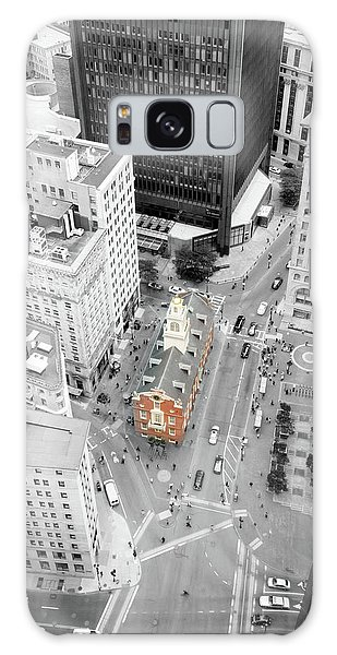 Old State House Galaxy Case by Greg Fortier