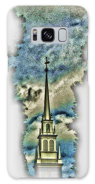 Old North Church Steeple Galaxy Case