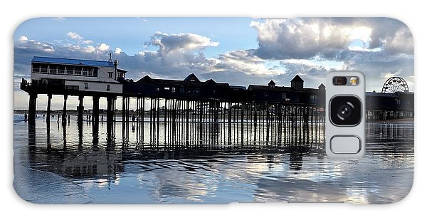 Old Orchard Beach Pier Galaxy Case