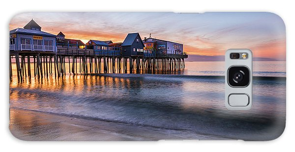 Galaxy Case featuring the photograph Old Orchard Beach by Expressive Landscapes Fine Art Photography by Thom