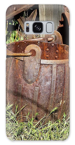 Old Ore Bucket Galaxy Case by Phyllis Denton