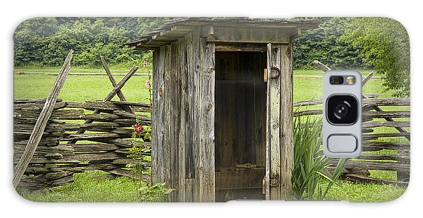Old Outhouse On A Farm In The Smokey Mountains Galaxy Case