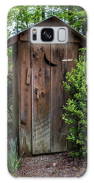 Old Outhouse Galaxy Case