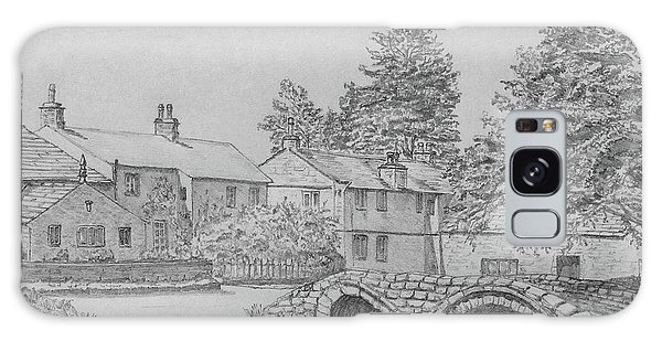 Old Packhorse Bridge Wycoller Galaxy Case by Anthony Lyon