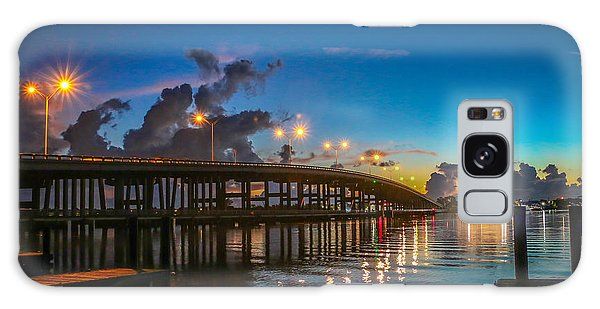 Old Palm City Bridge Galaxy Case