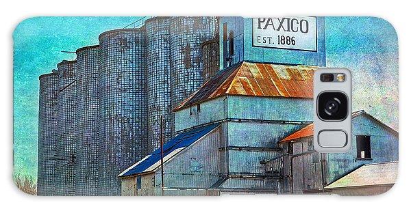 Old Paxico Kansas Grain Elevator Galaxy Case
