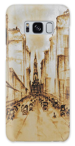 Old Philadelphia City Hall 1920 Galaxy Case