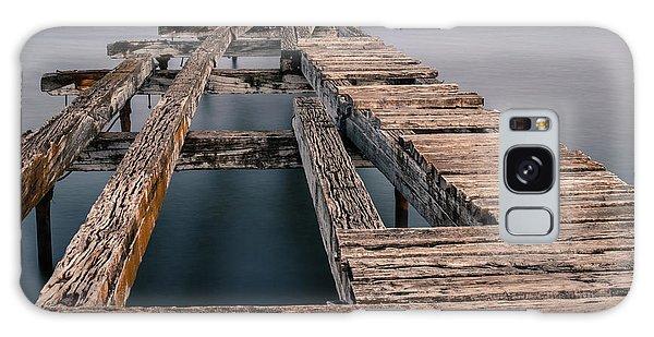 Old Pier In Punta Arenas Galaxy Case