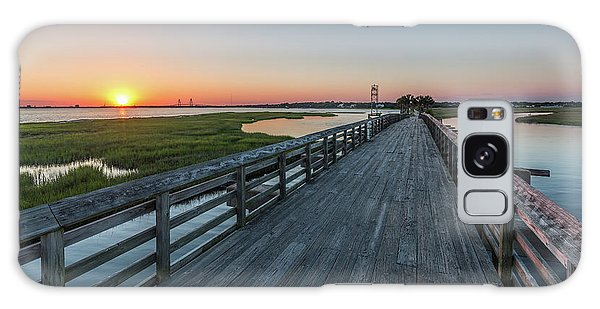 Old Pitt Street Bridge  Galaxy Case
