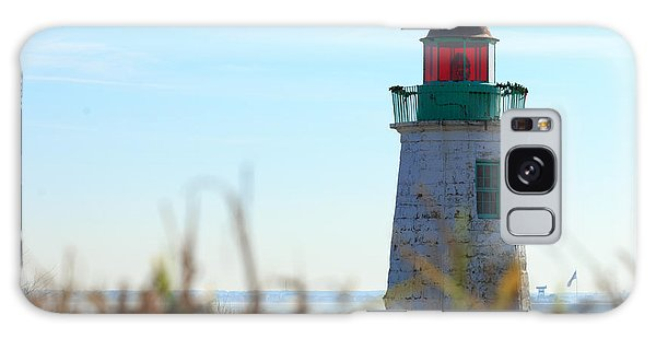 Old Point Comfort Lighthouse Galaxy Case