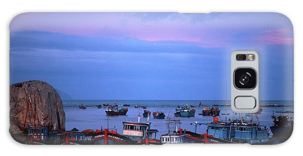 Old Port Of Nha Trang In Vietnam Galaxy Case