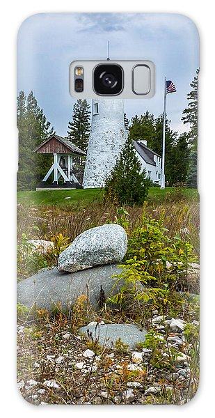 Old Presque Isle Lighthouse Galaxy Case