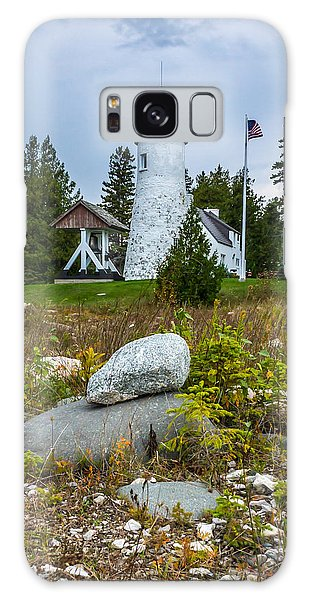 Old Presque Isle Lighthouse Galaxy Case