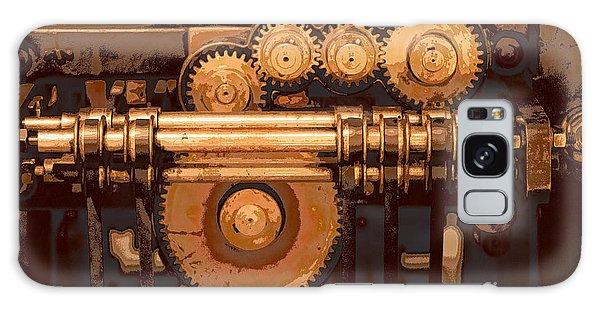 Old Printing Press Galaxy Case