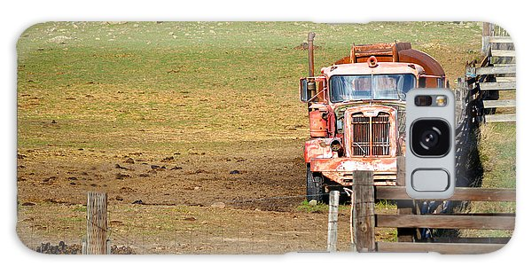 Old Pump Truck Galaxy Case