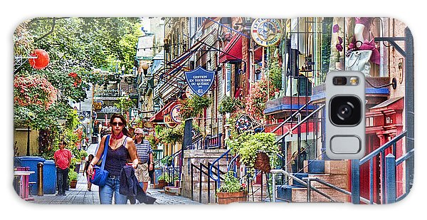 Quebec City Galaxy Case - Old Quebec City by David Smith