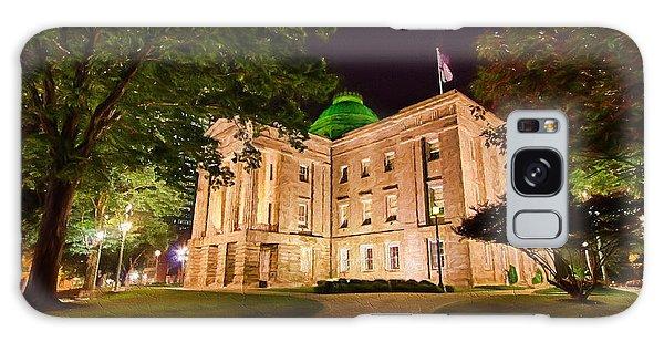Old Raleigh Capital At Night II Galaxy Case by Dan Carmichael