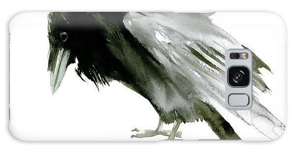 Old Raven Galaxy Case by Suren Nersisyan