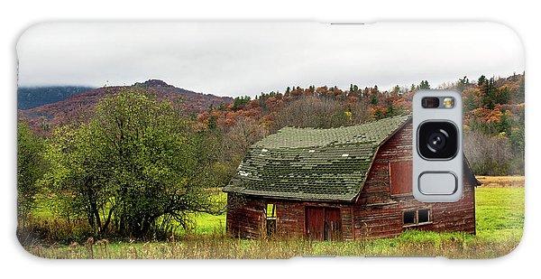 Old Red Adirondack Barn Galaxy Case by Nancy De Flon