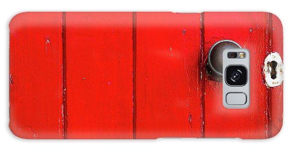 Old Red Door  Galaxy Case