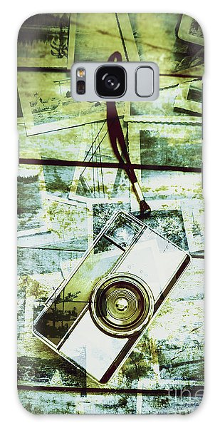 Faded Galaxy Case - Old Retro Film Camera In Creative Composition by Jorgo Photography - Wall Art Gallery