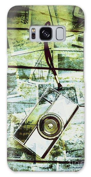 Camera Galaxy Case - Old Retro Film Camera In Creative Composition by Jorgo Photography - Wall Art Gallery