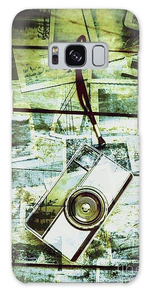 Vintage Camera Galaxy Case - Old Retro Film Camera In Creative Composition by Jorgo Photography - Wall Art Gallery