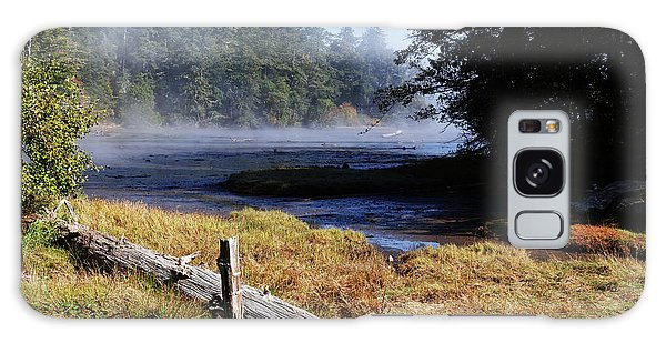 Old River Scene Galaxy Case