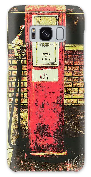 66 Galaxy Case - Old Roadhouse Gas Station by Jorgo Photography - Wall Art Gallery