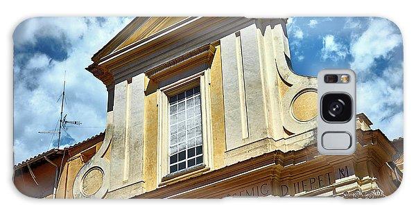 Old Roman Building Galaxy Case
