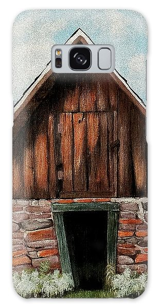 Old Root House Galaxy Case by Anastasiya Malakhova