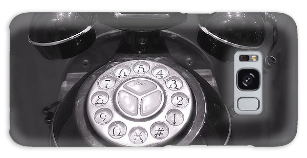 Old Rotary Dial Telephone Galaxy Case by Yali Shi