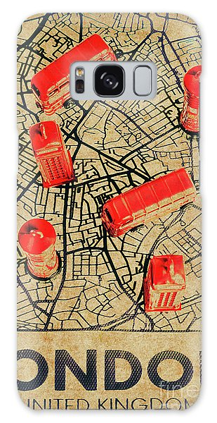 Navigation Galaxy Case - Old Routemaster Way by Jorgo Photography - Wall Art Gallery