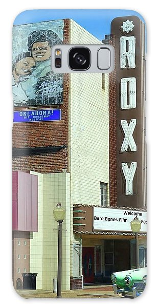 Old Roxy Theater In Muskogee, Oklahoma Galaxy Case