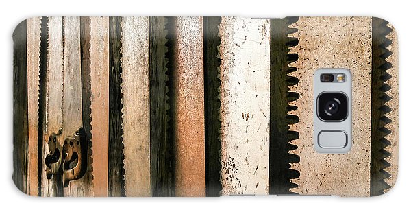 Retired Rusted Saws Galaxy Case by Lexa Harpell