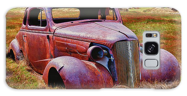 Bodie Galaxy Case - Old Rusty Car Bodie Ghost Town by Garry Gay
