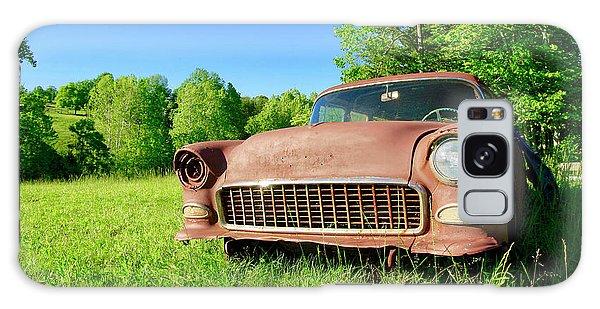 Old Rusty Car Galaxy Case
