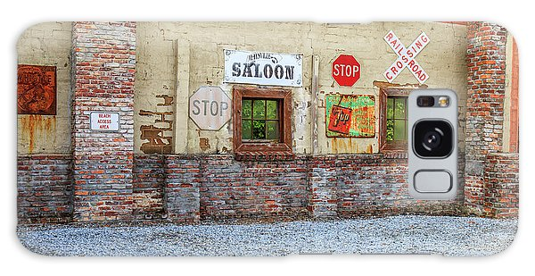 Galaxy Case featuring the photograph Old Saloon Wall by Doug Camara