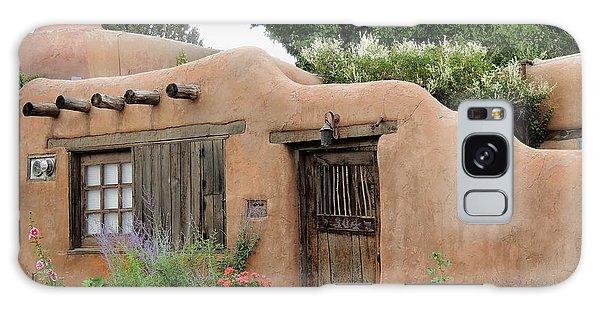 Old Santa Fe Cottage Galaxy Case