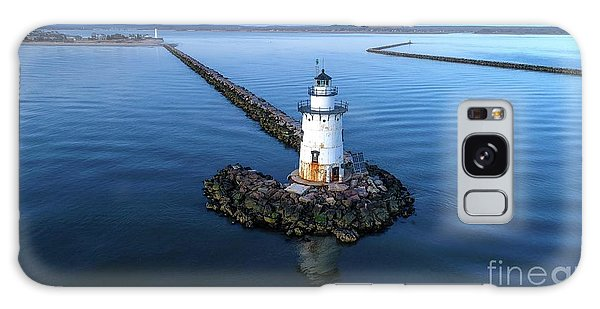 Old Saybrook Outer Lighthouse Galaxy Case