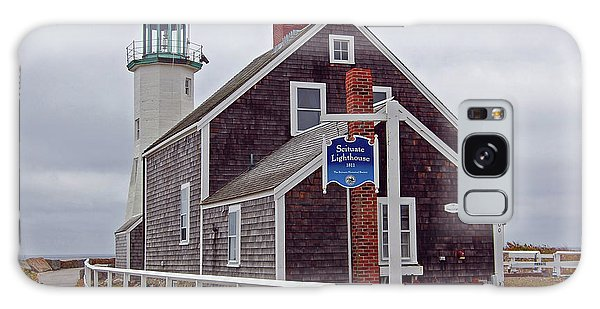 Old Scituate Lighthouse Galaxy Case