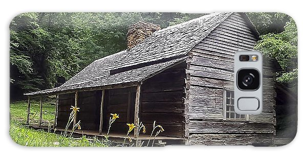 Old Settlers Cabin Smoky Mountains National Park Galaxy Case