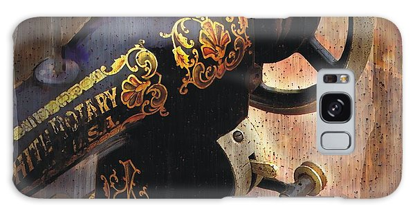 Old Sewing Machine Galaxy Case by Bob Salo