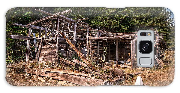 Old Shack In Cambria Pines Galaxy Case