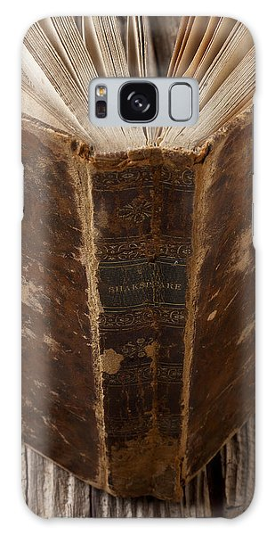 Old Shakespeare Book Galaxy Case
