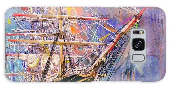 Old Ship 226 4 Galaxy Case by Mawra Tahreem