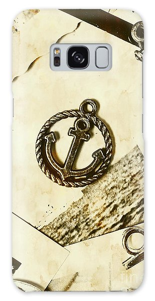Shipping Galaxy Case - Old Shipping Emblem by Jorgo Photography - Wall Art Gallery