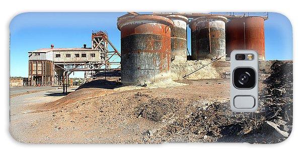 Old Silver Mine Broken Hill Galaxy Case by Bill Robinson