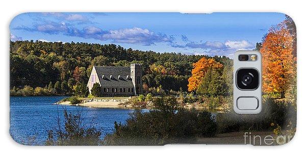 Old Stone Church. West Boylston, Massachusetts. Galaxy Case